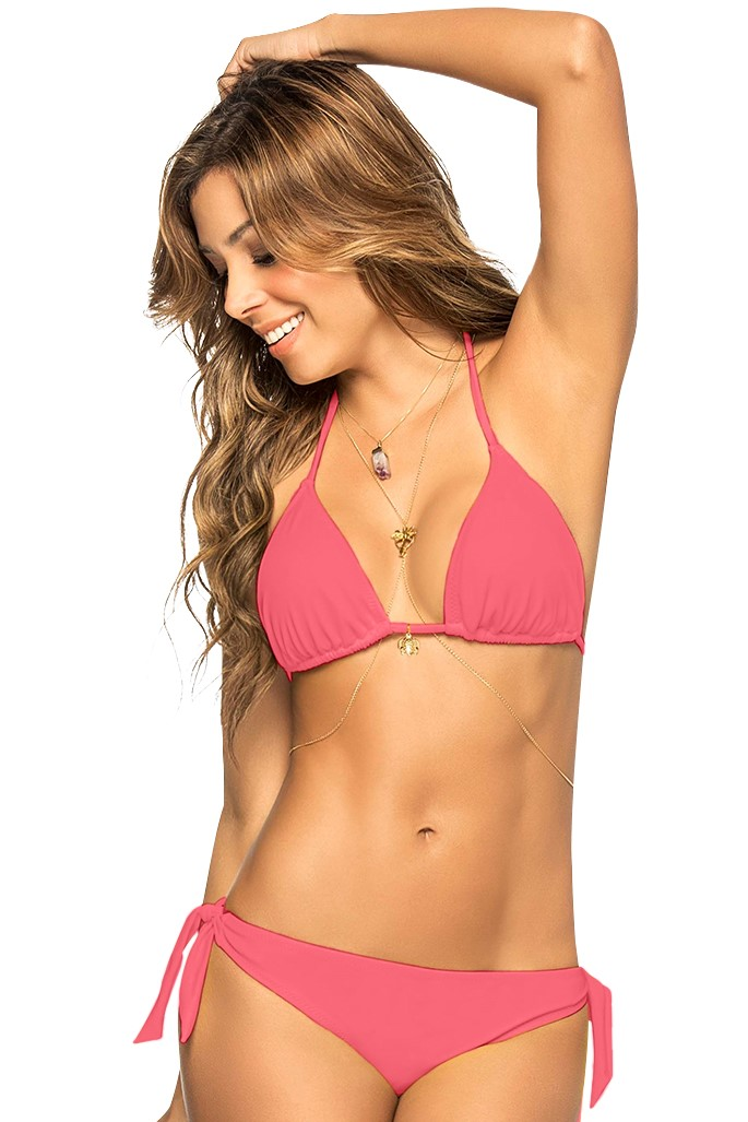 Phax Triangle Bikini Cherry Pink