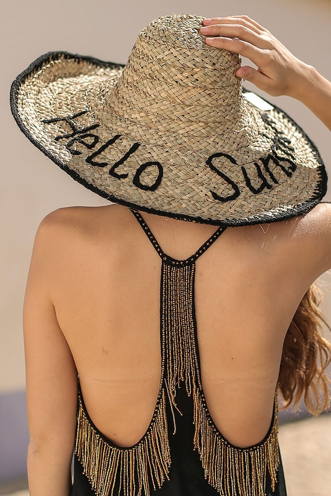 Beach Fashion Only Seagrass Hat