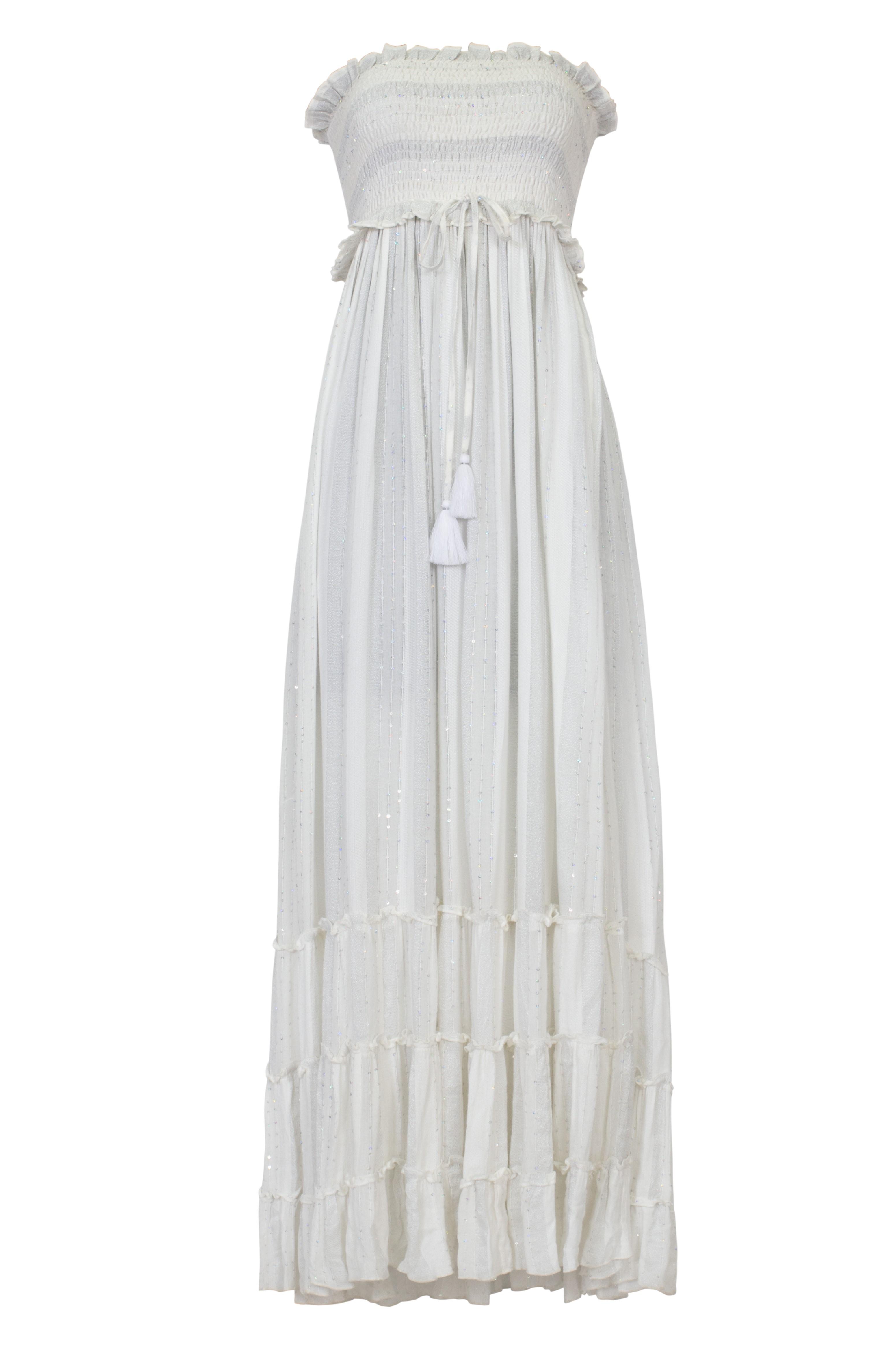 Pilyq Swim Water Lily Charlotte Maxi Dress