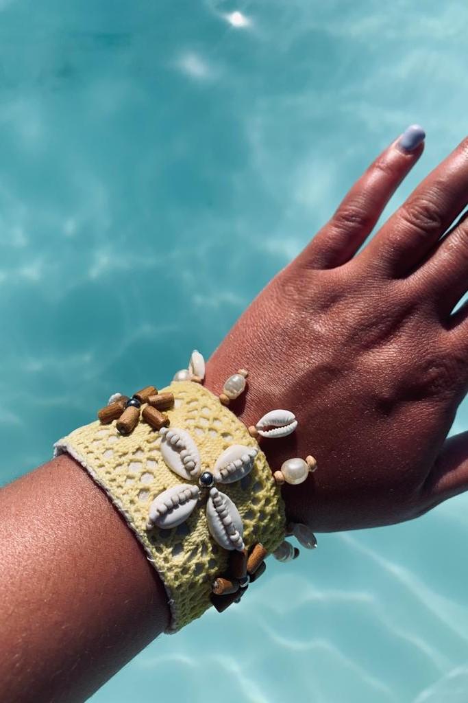 Hot Lava Lush Bracelet Yellow-Uniek-Geel