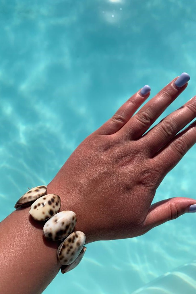 Hot Lava Schelpen Armband-Uniek-Naturel