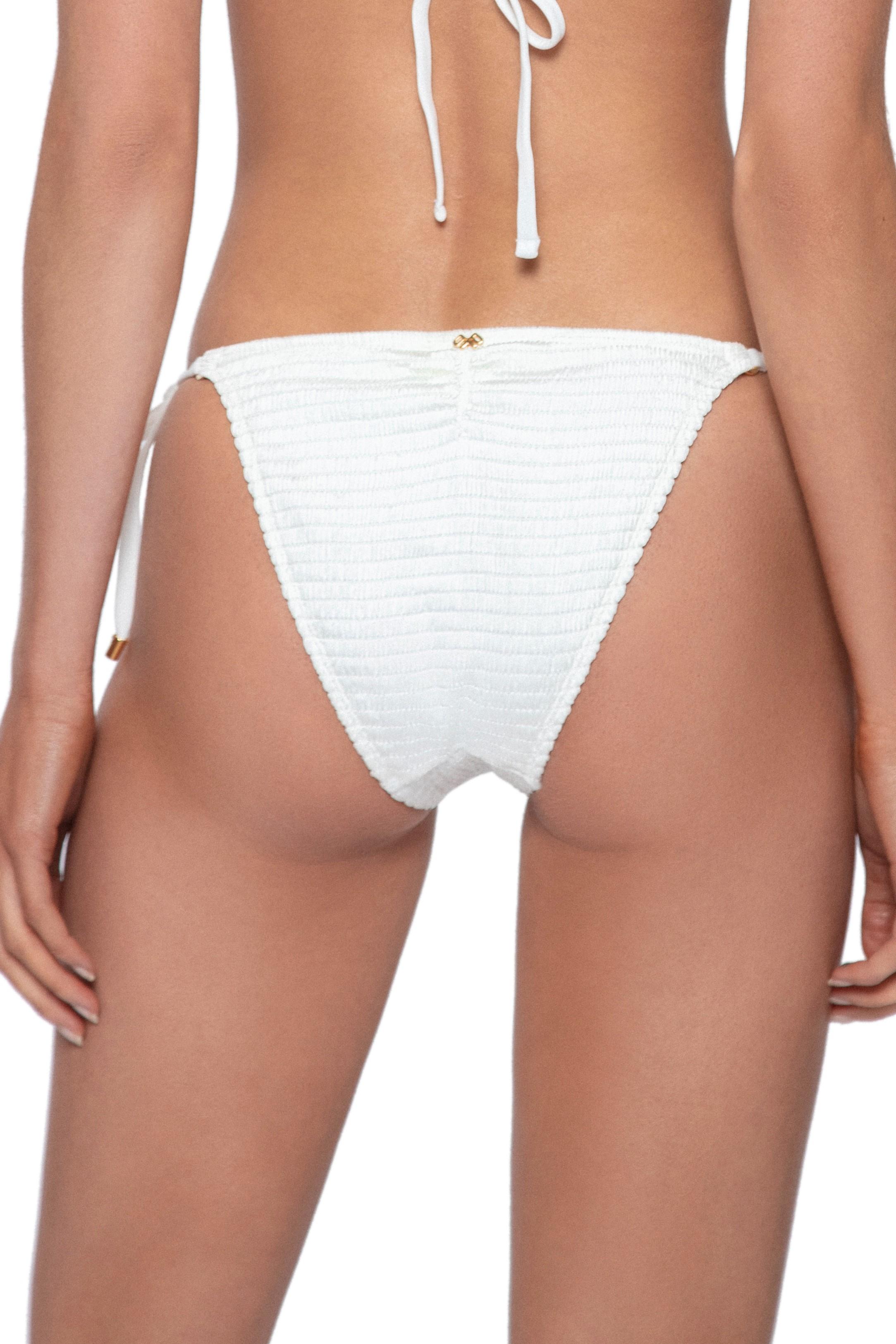 Pilyq Swim Pure Tie Side Bikini Bottom Ivory