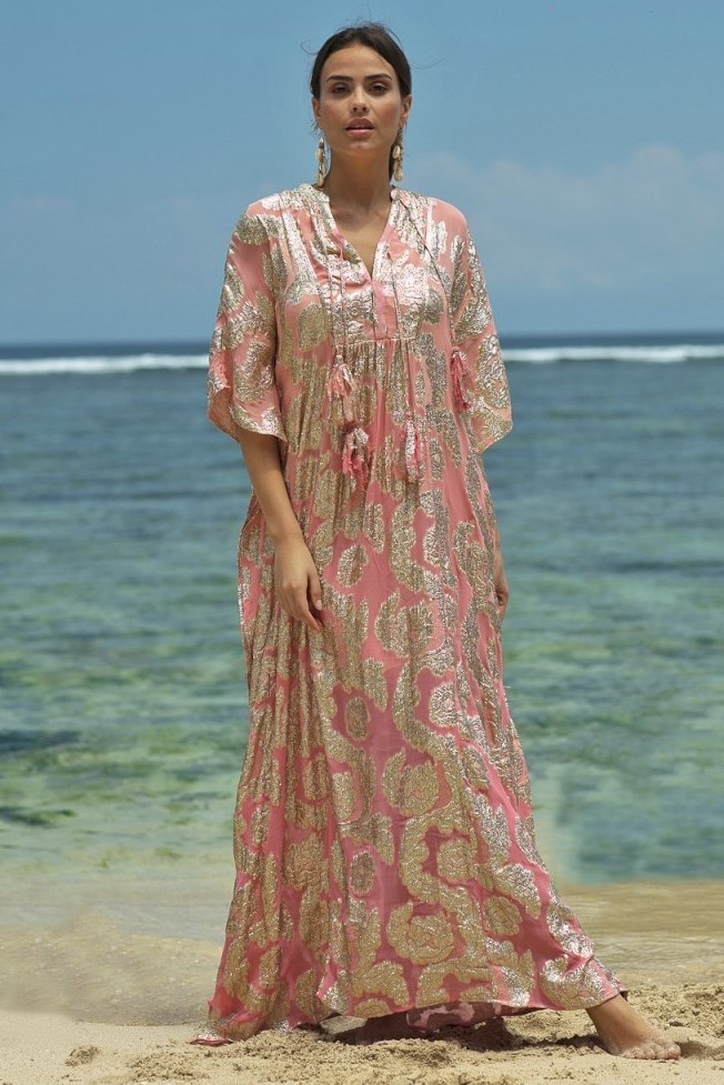 Miss June Long Dress Bodhi-Uniek-Roos