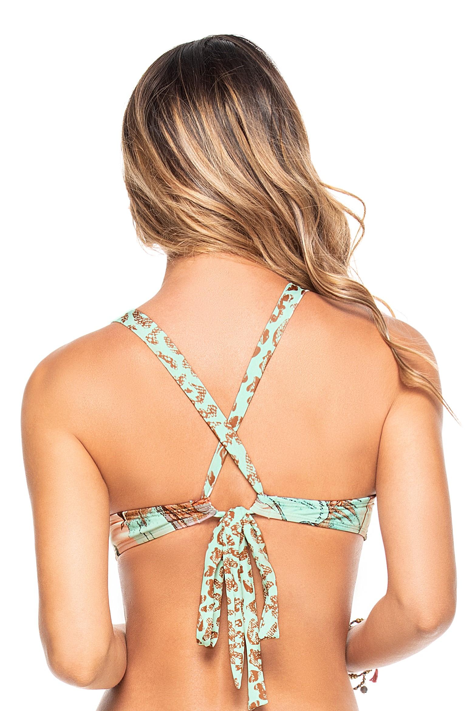 Phax Bella Africa Luxe Sport Bikini Top