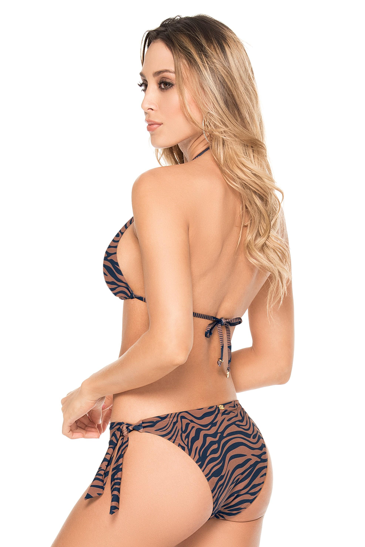 Phax Safari Zebra Triangel Bikini