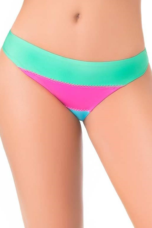 Kiss Full Bikini Bottom-medium-Multicolour
