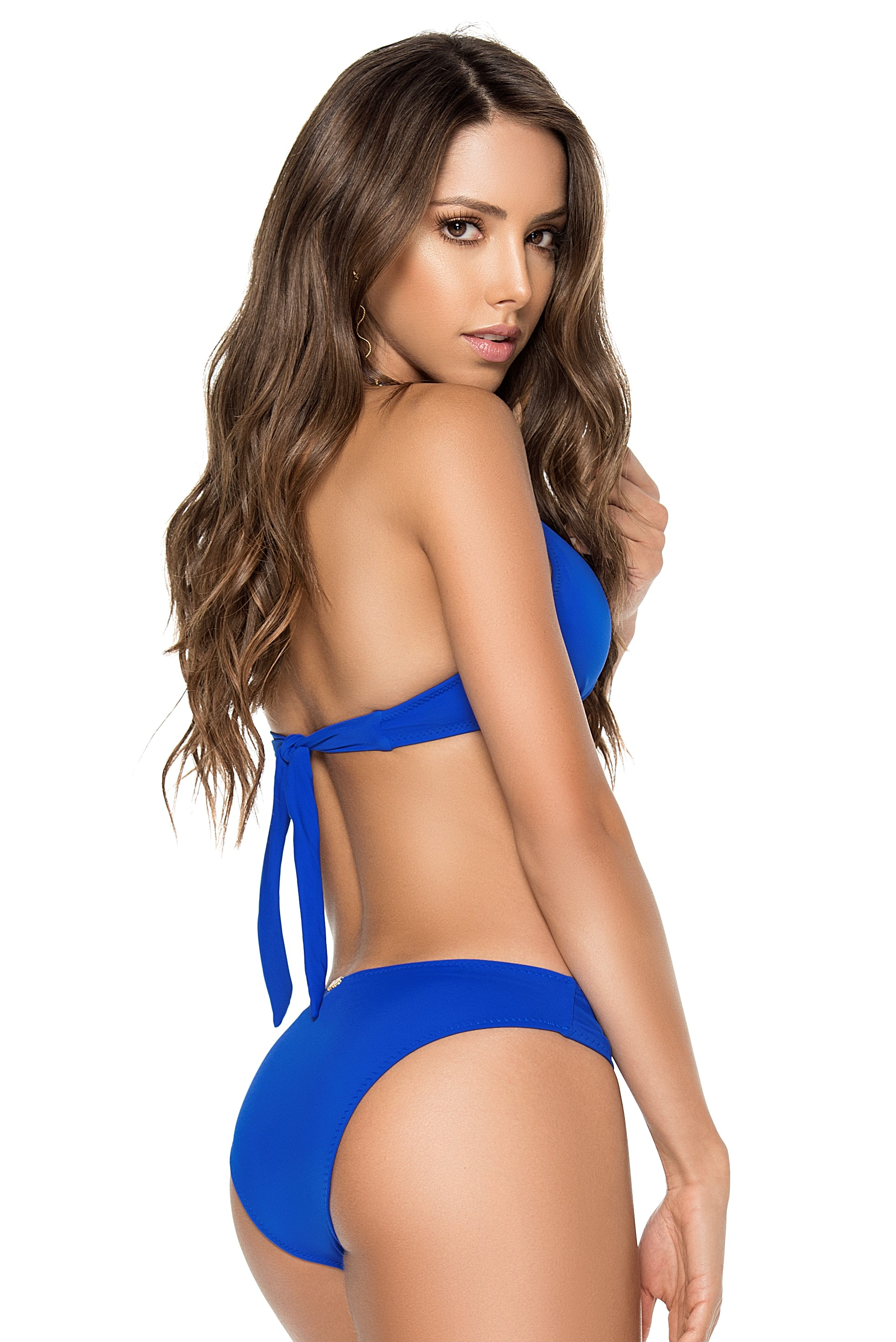Phax Color Mix Triangle Wire Bikini Blue