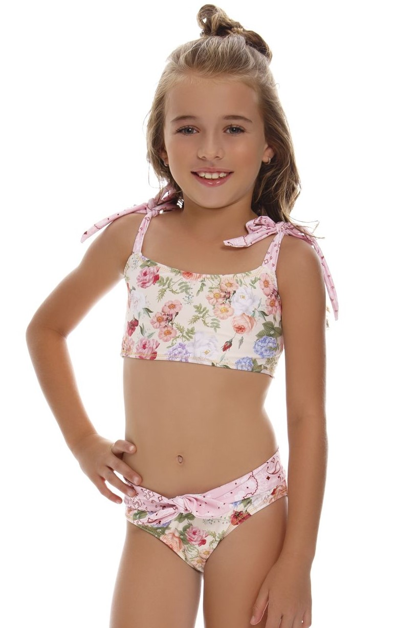Milonga Mia Girls Bikini -10 jaar-Multicolour