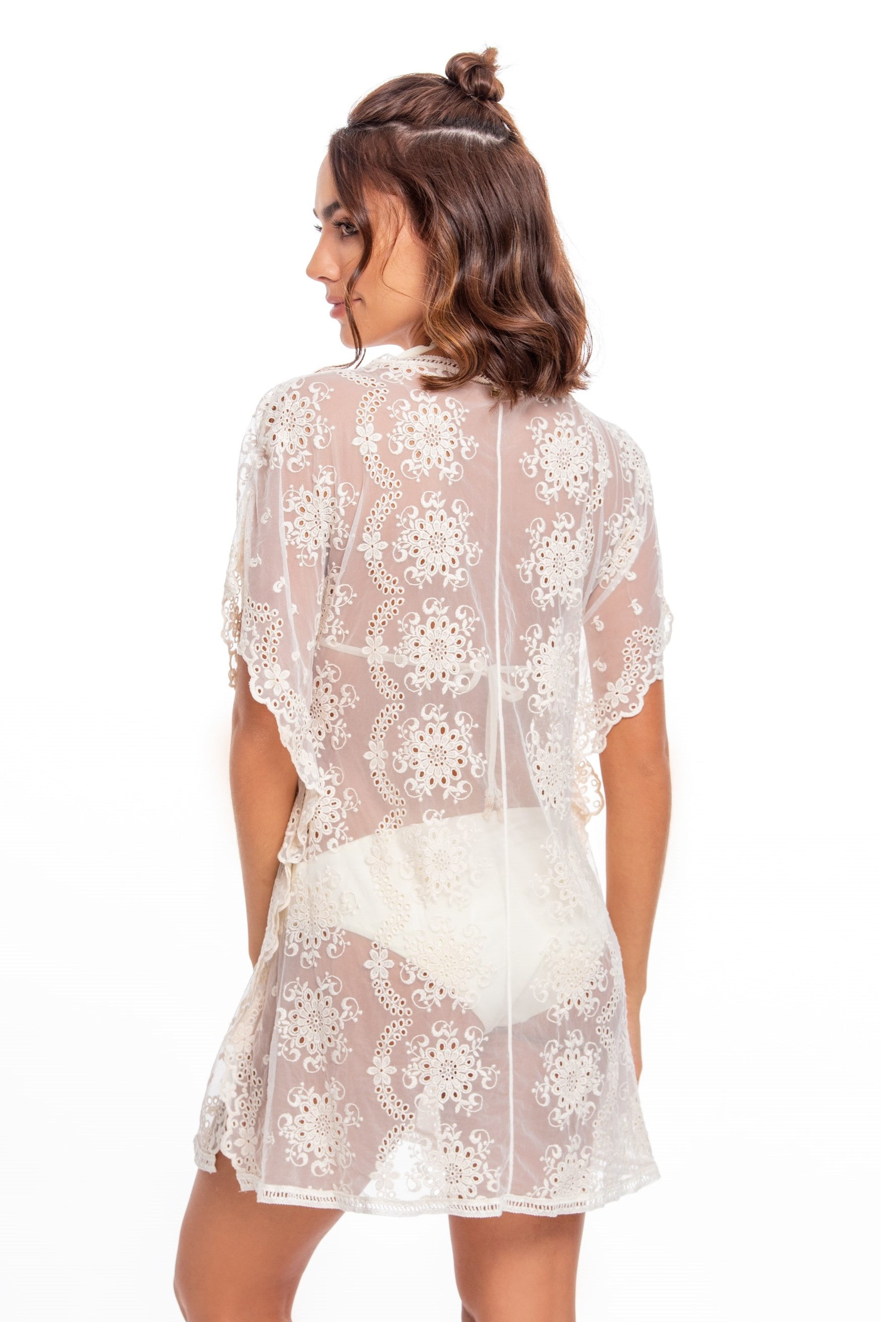 Milonga Palette Lace Beach Cover Up