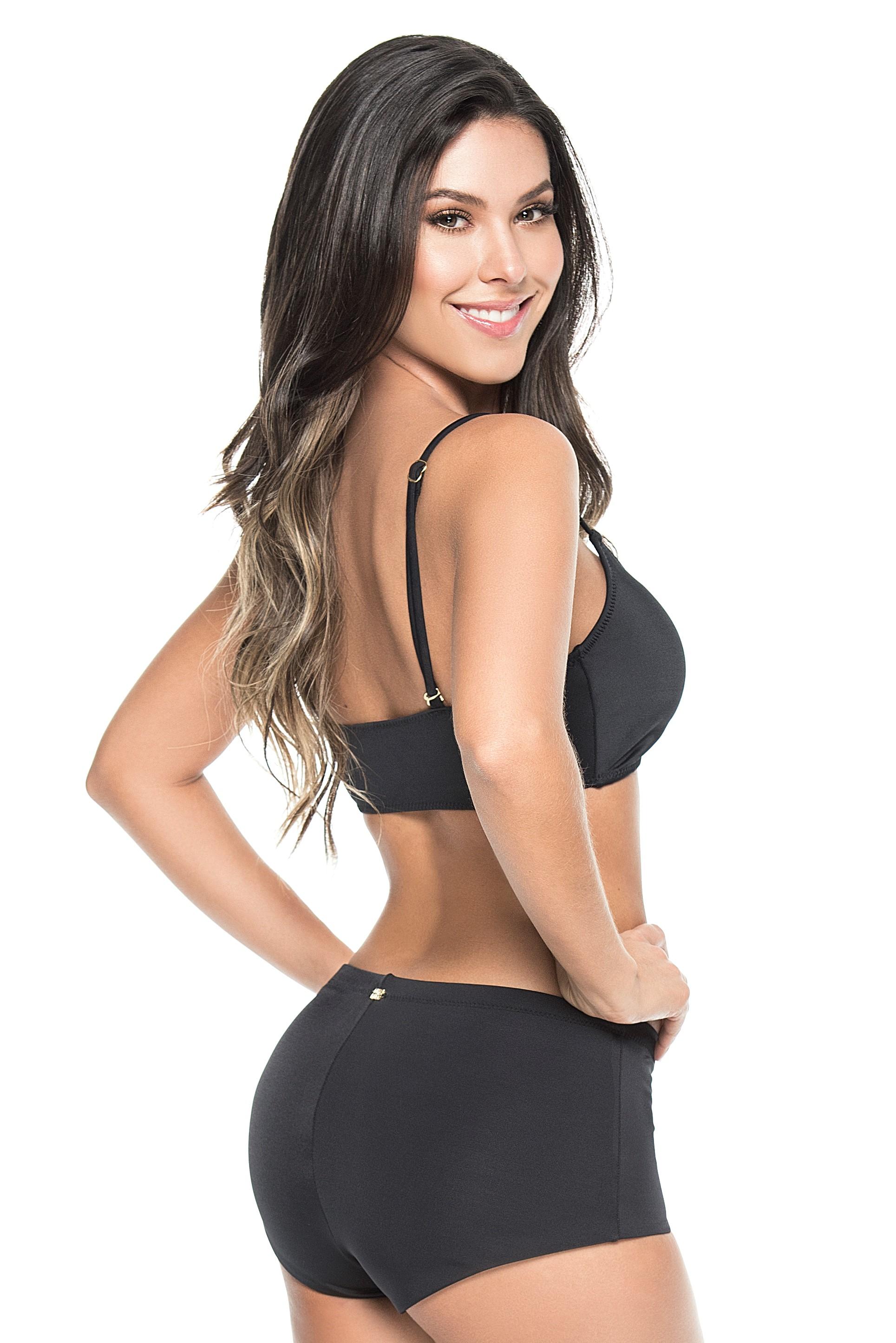 Phax Zwarte Sport Bikini