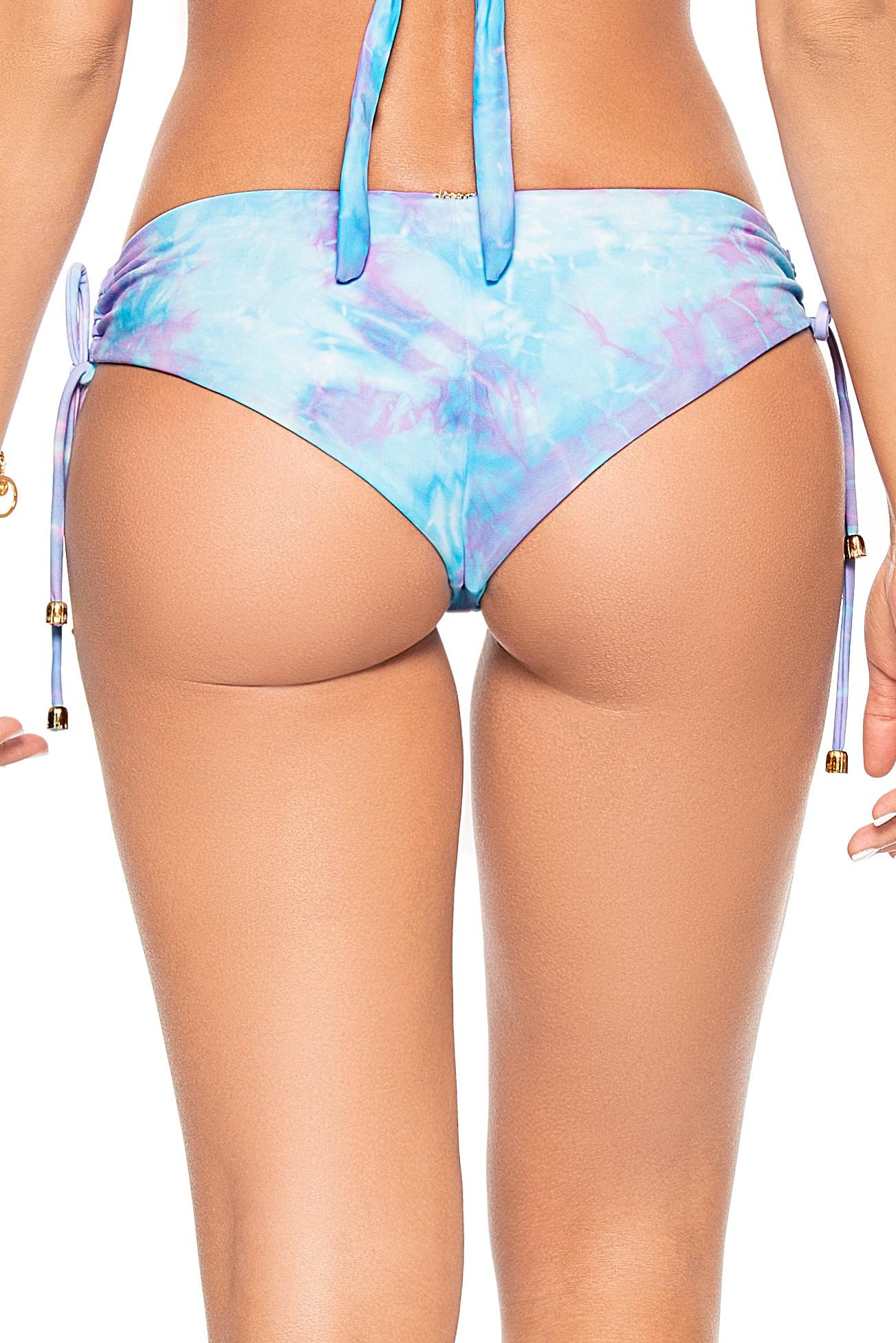 Phax Bella Iceland Blauw Tie Dye Cheeky Bikini Broekje