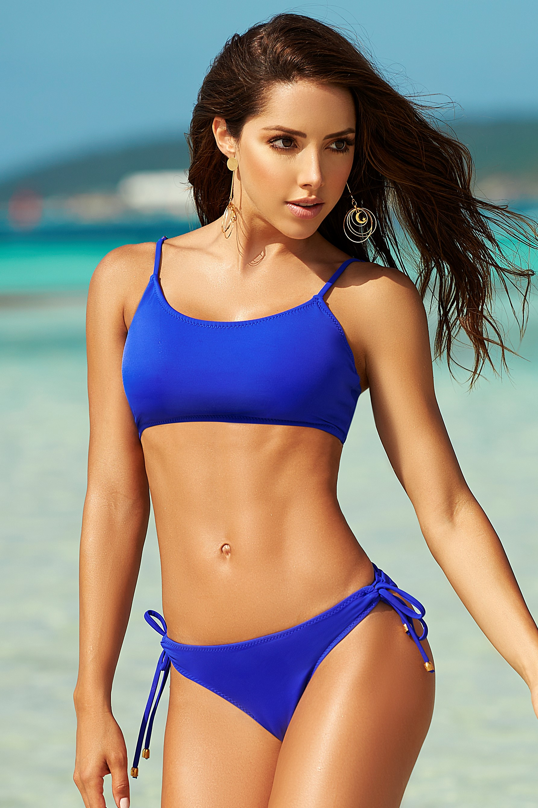 Phax Color Mix Sporty Bikini Blue