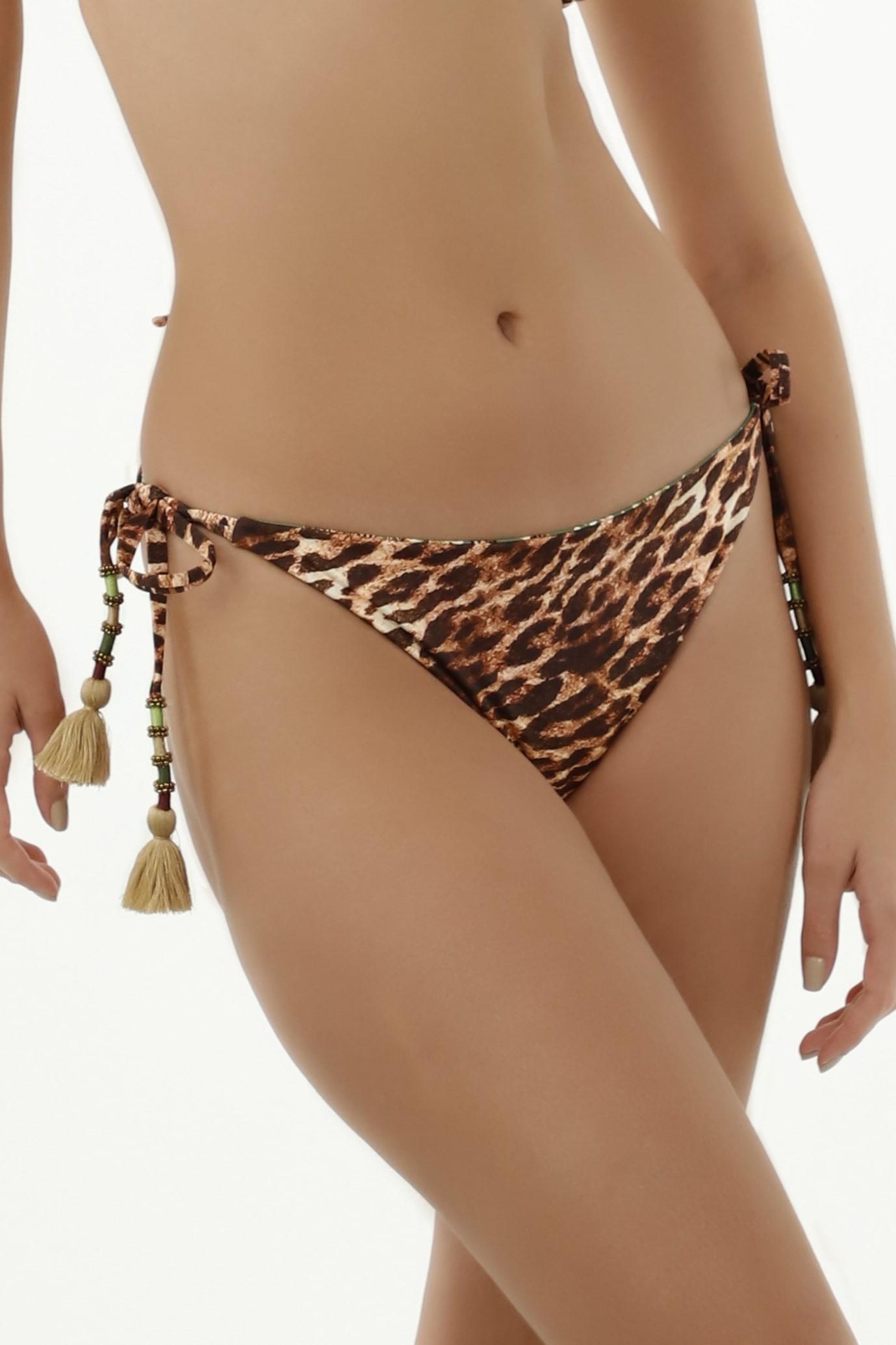 Milonga Selva Reversible Scrunch Bikini Bottom