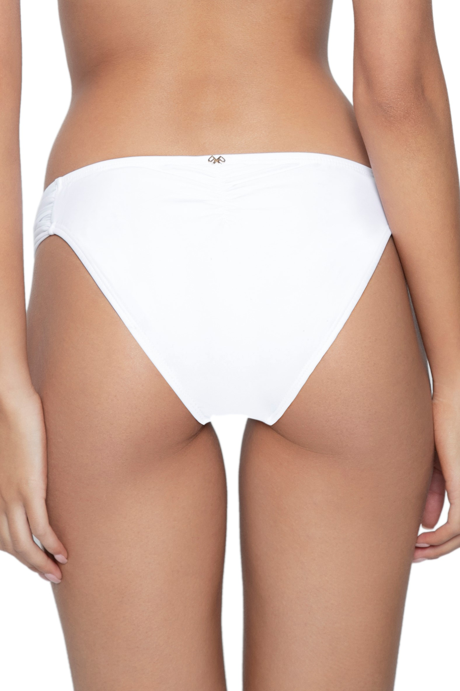 Pilyq Swim Water Lily Kanten Bikini Broekje Wit