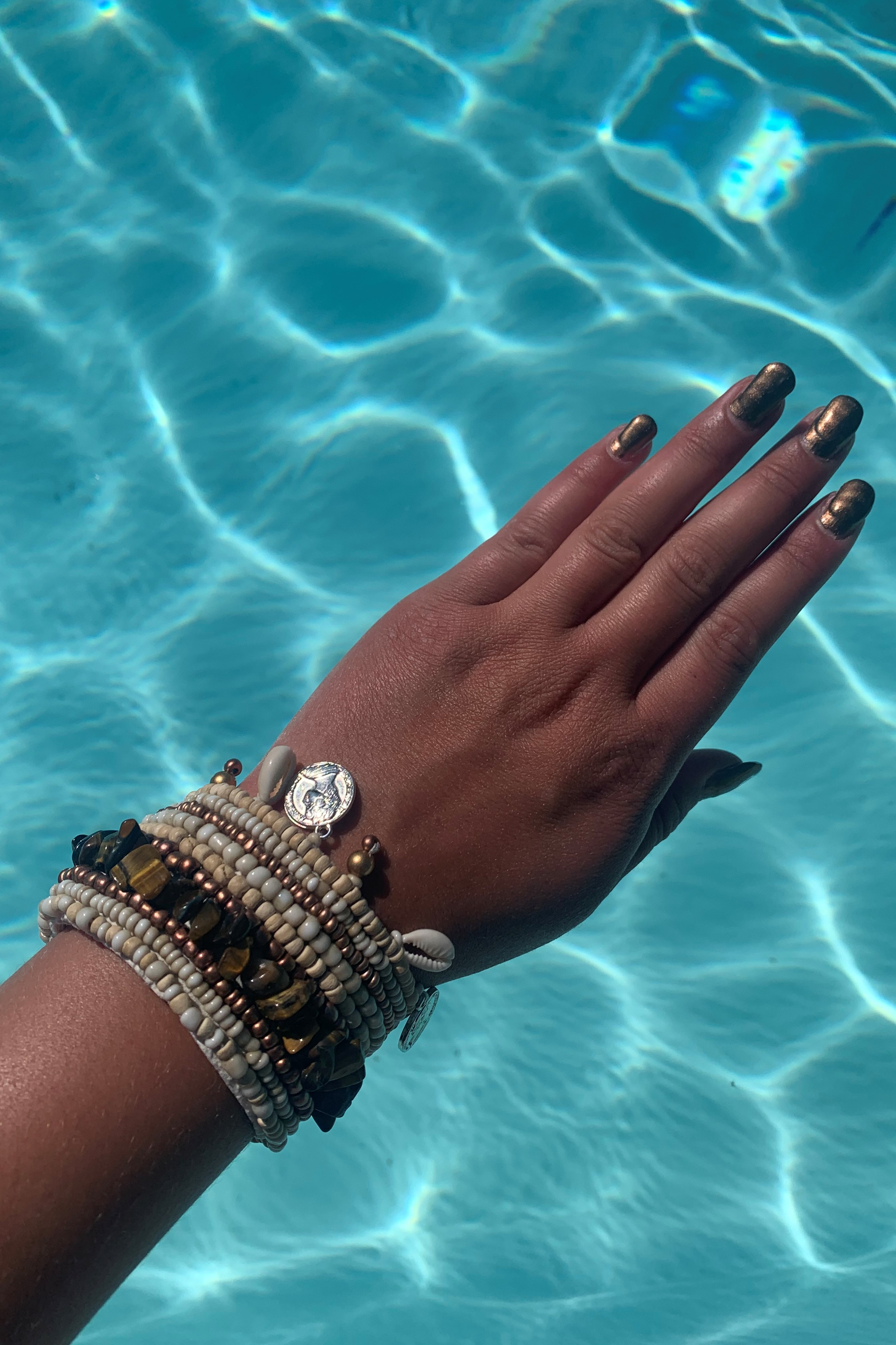 Hot Lava Indy Bracelet Brown-Uniek-Bruin