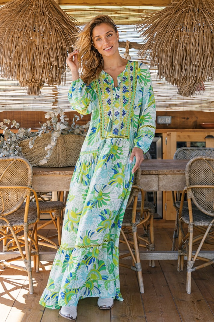 Miss June Maxi Jurk Lola