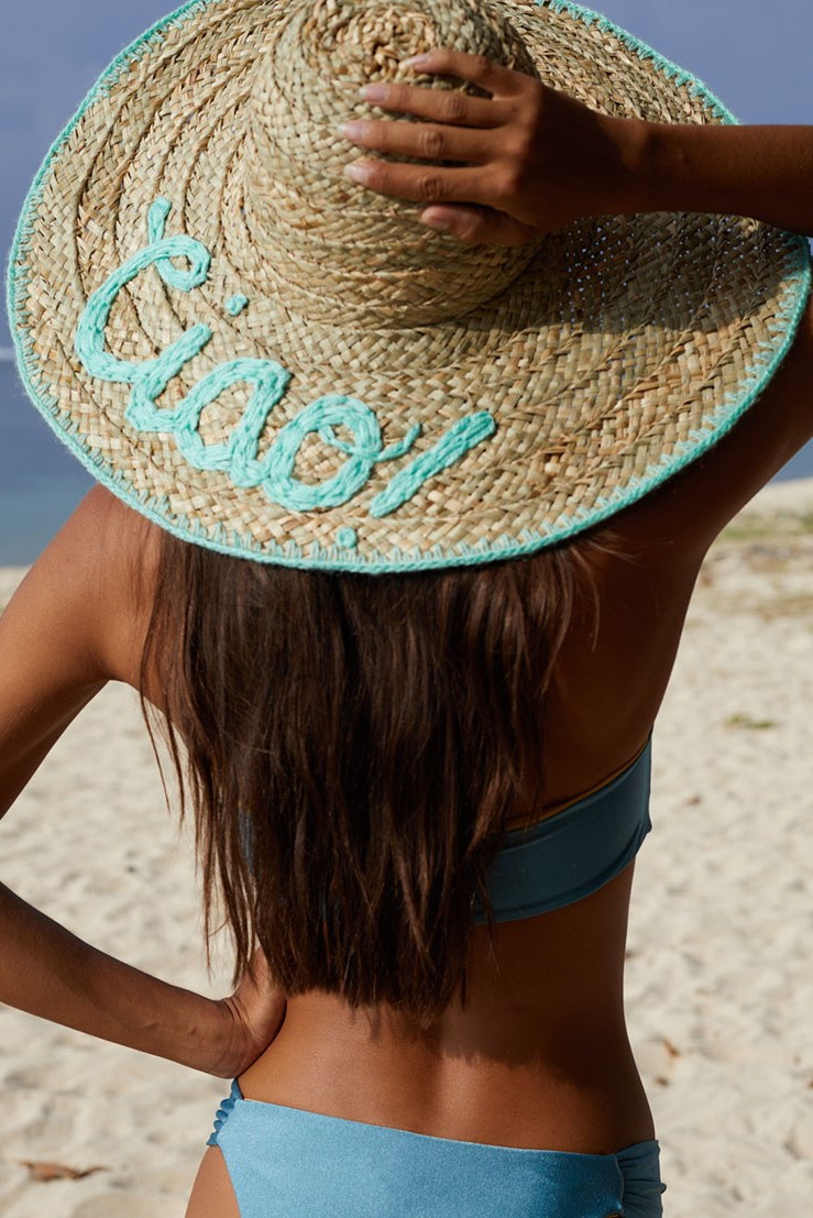 Beach Fashion Only Seagrass Hat Ciao Azur