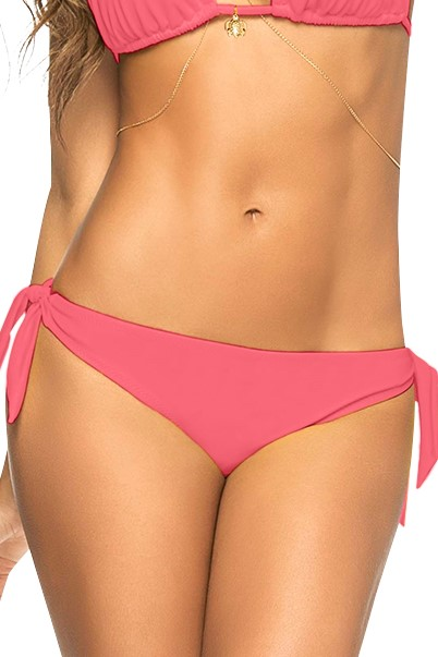 Phax Color Mix String Bikini Bottom Cherry Pink-small-Kers Roos