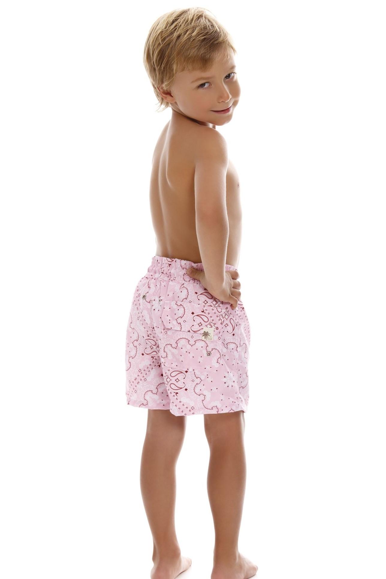 Milonga Mia Jongens zwemshort Roze