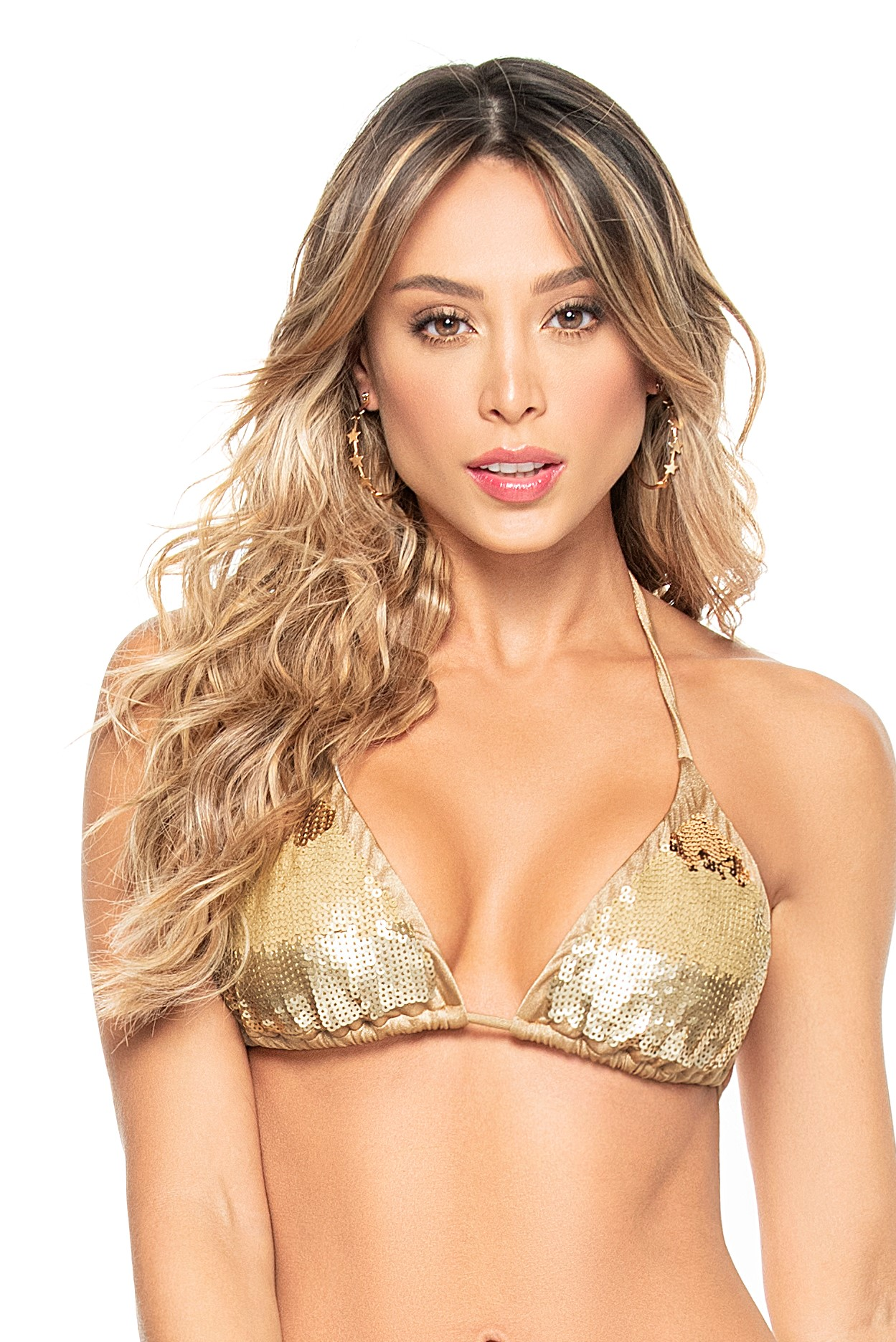 Phax Bella Brasil Golden Triangle Bikini Top