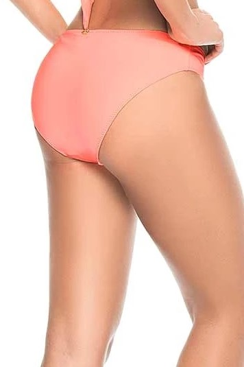 Phax Color Mix Full Bikini Bottom Pastel Orange-medium-Pastel Orange