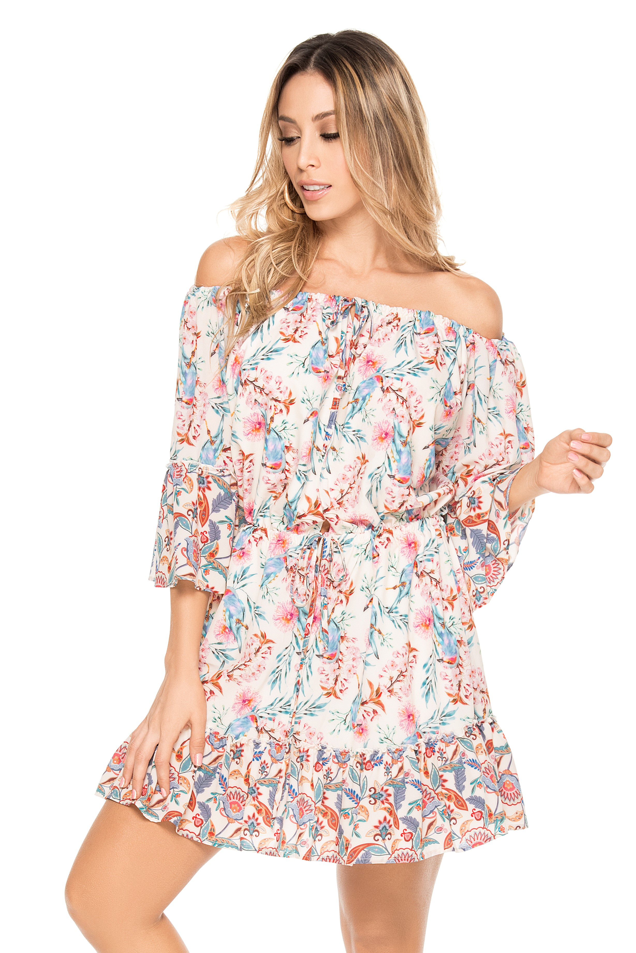 Phax Romantic Bay Dress -medium-Multicolour