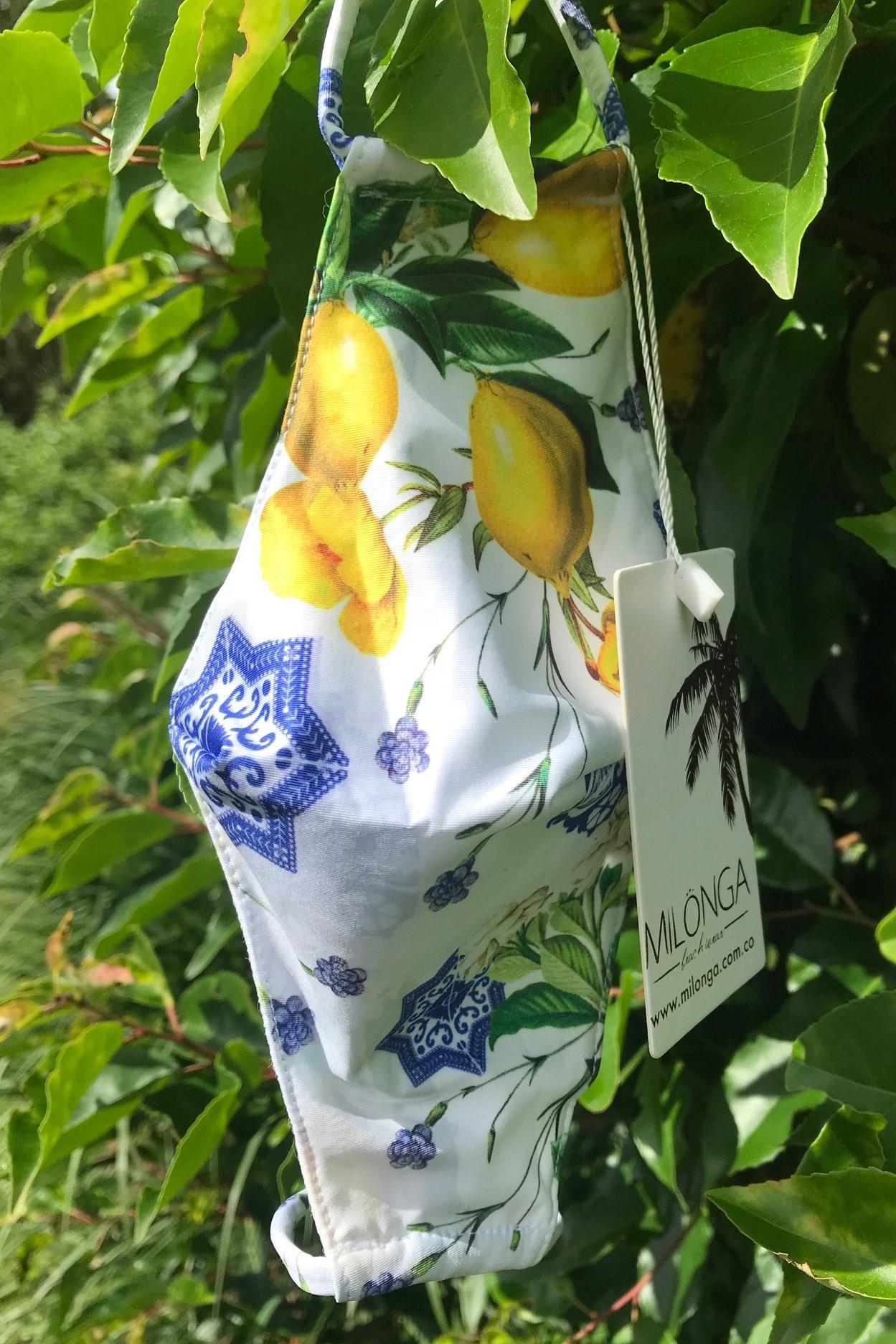 Trendy Mondmasker Lemon-Uniek-Multicolour