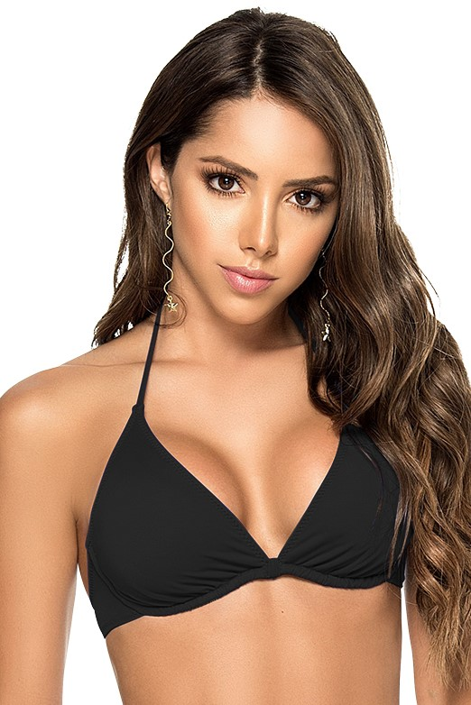 Phax Color Mix Wire Bikini Top Black-extralarge-Zwart