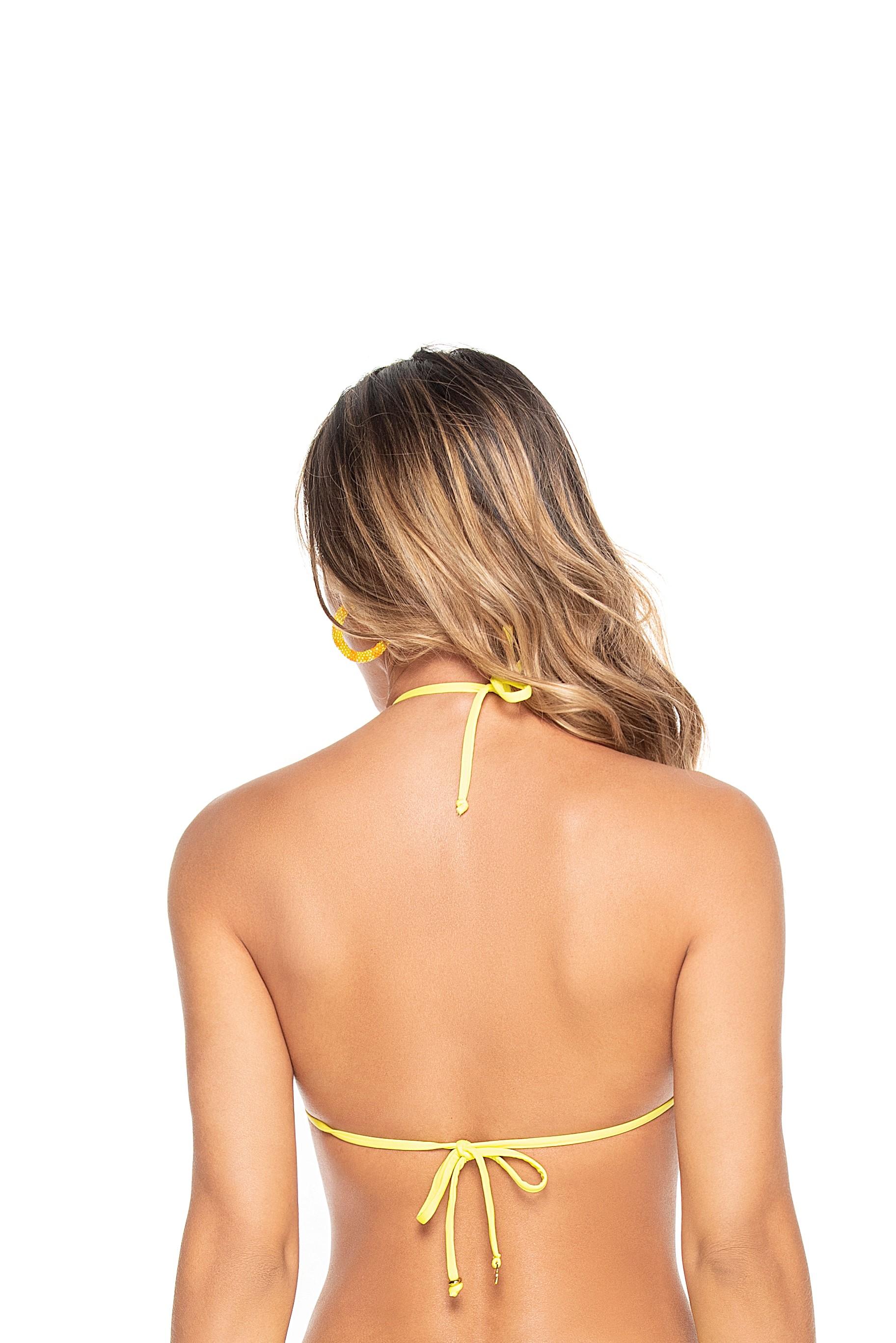 Phax Mimosa Gele Triangel Bikini Top