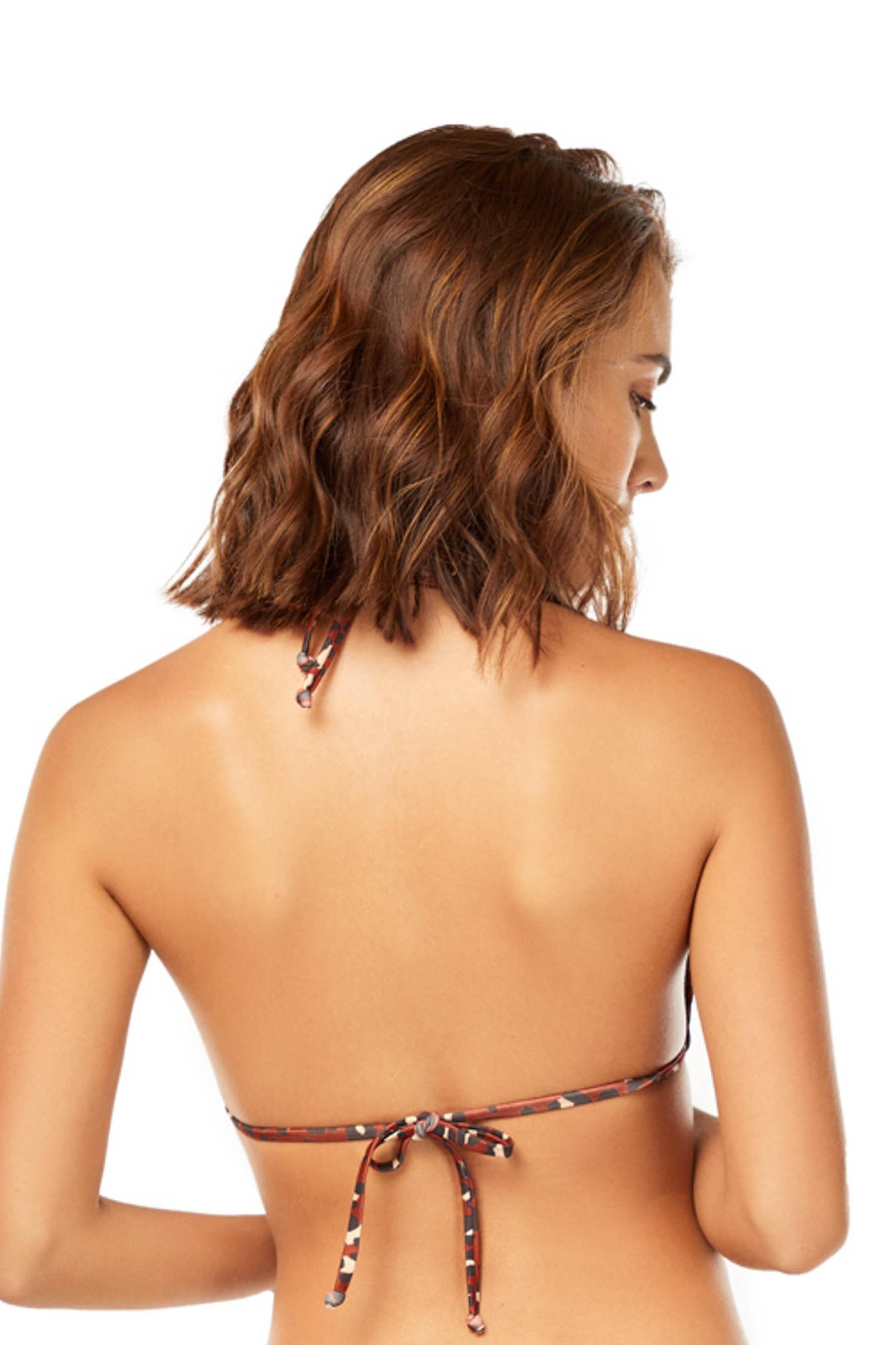 Cosita Linda Sahara Triangle Bikini Top