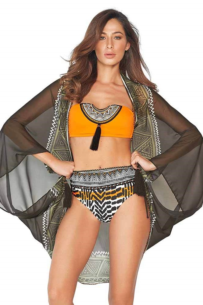Cosita Linda Tribal Luxury Pareo-Uniek-Multicolour
