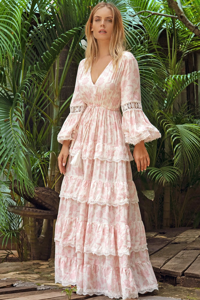 Miss June Maxi Jurk Alpha