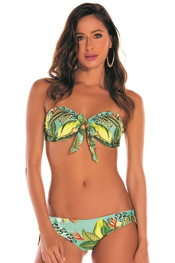 Milonga Oasis Strapless Bikini