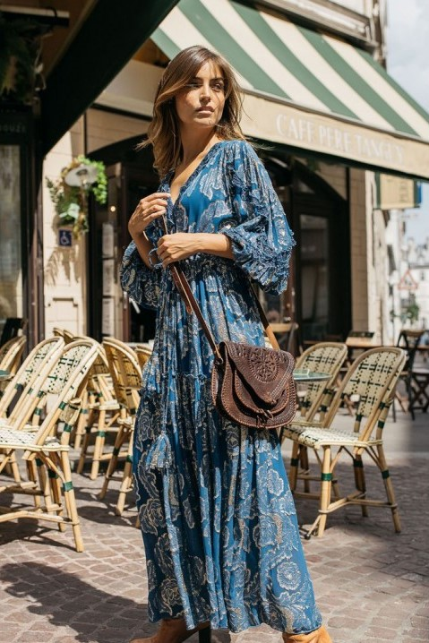 Miss June Maxi Dress Gabrielle Blue