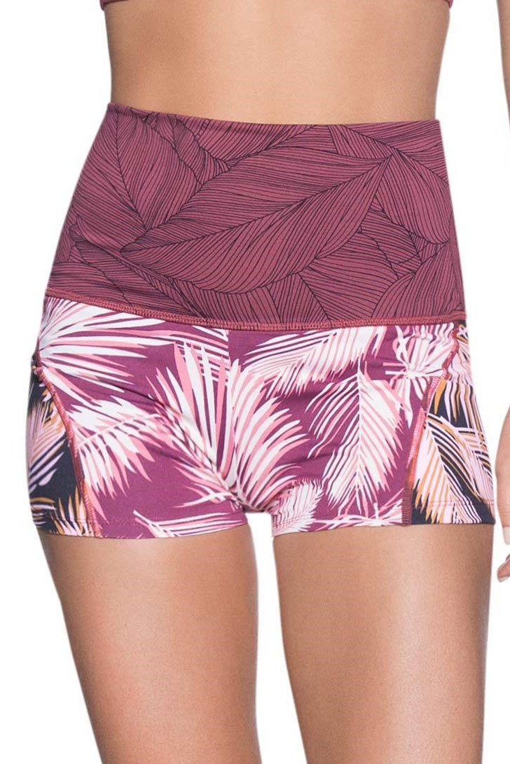 Maaji Bordeaux Waves Short-medium-Multicolour
