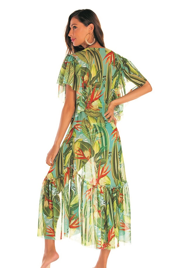 Milonga Oasis Beach Cover Up-Uniek-Multicolour