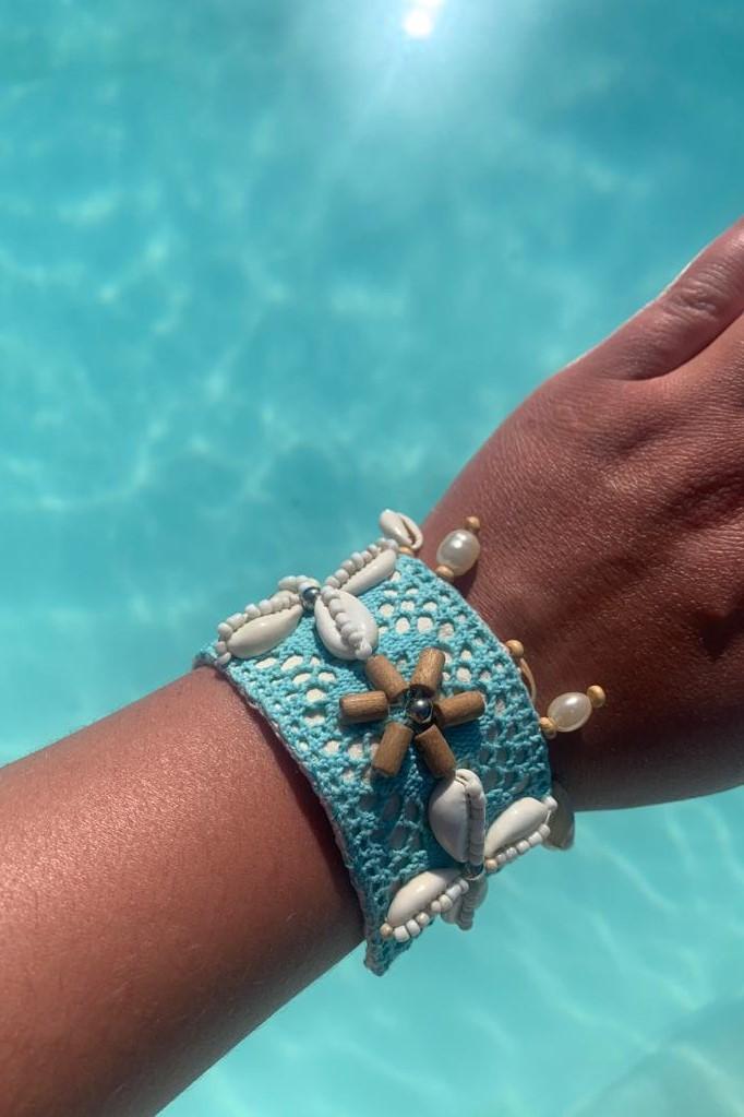 Hot Lava Lush Bracelet Turquoise-Uniek-Turquoise