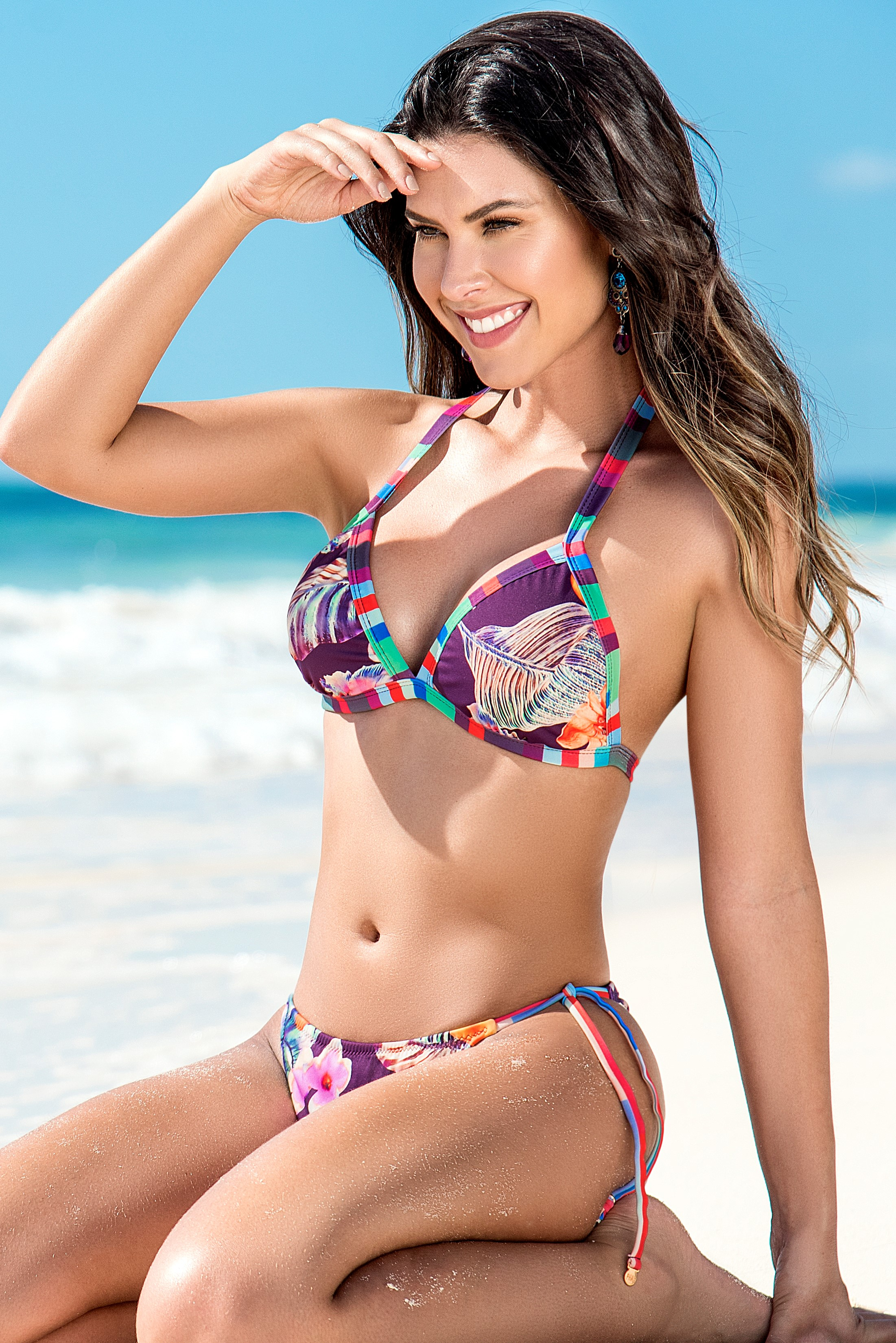 Phax Grape Triangle Bikini