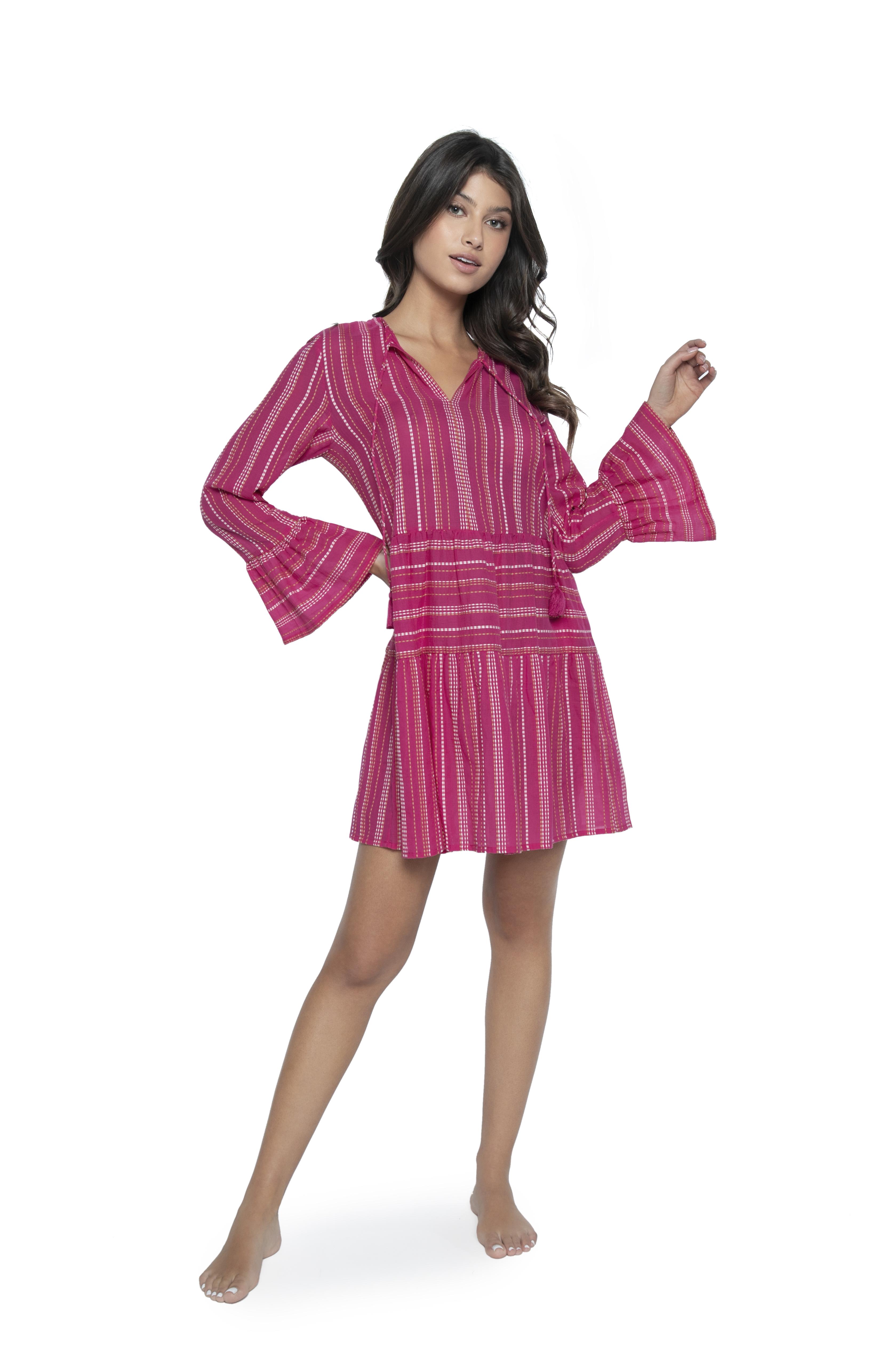Pilyq Swim Pink Topaz Morgan Dress