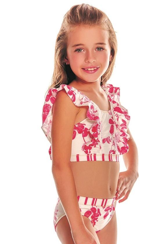 Milonga Camelia Kids Bikini