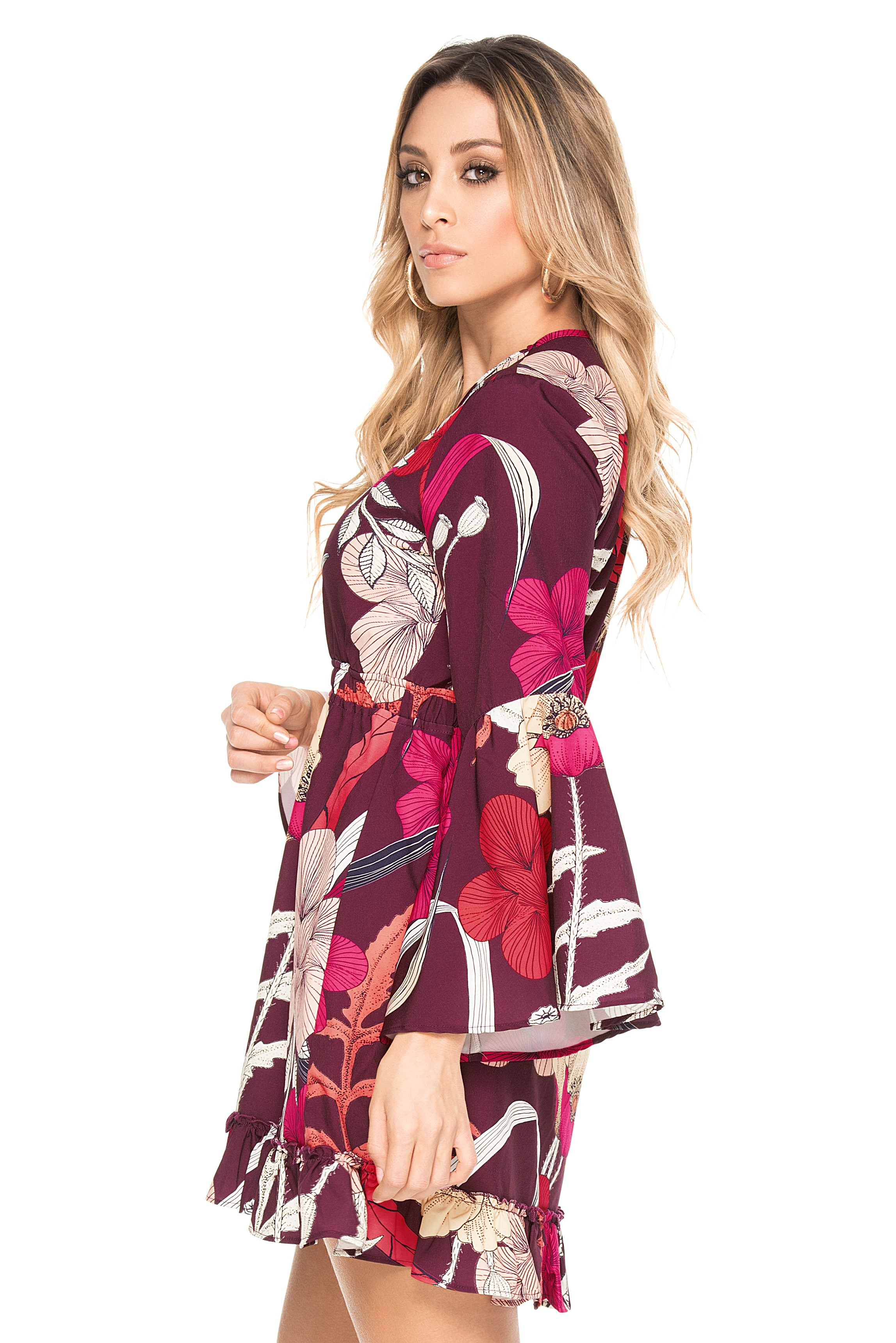 Phax Coffee Bay Dress-large-Multicolour