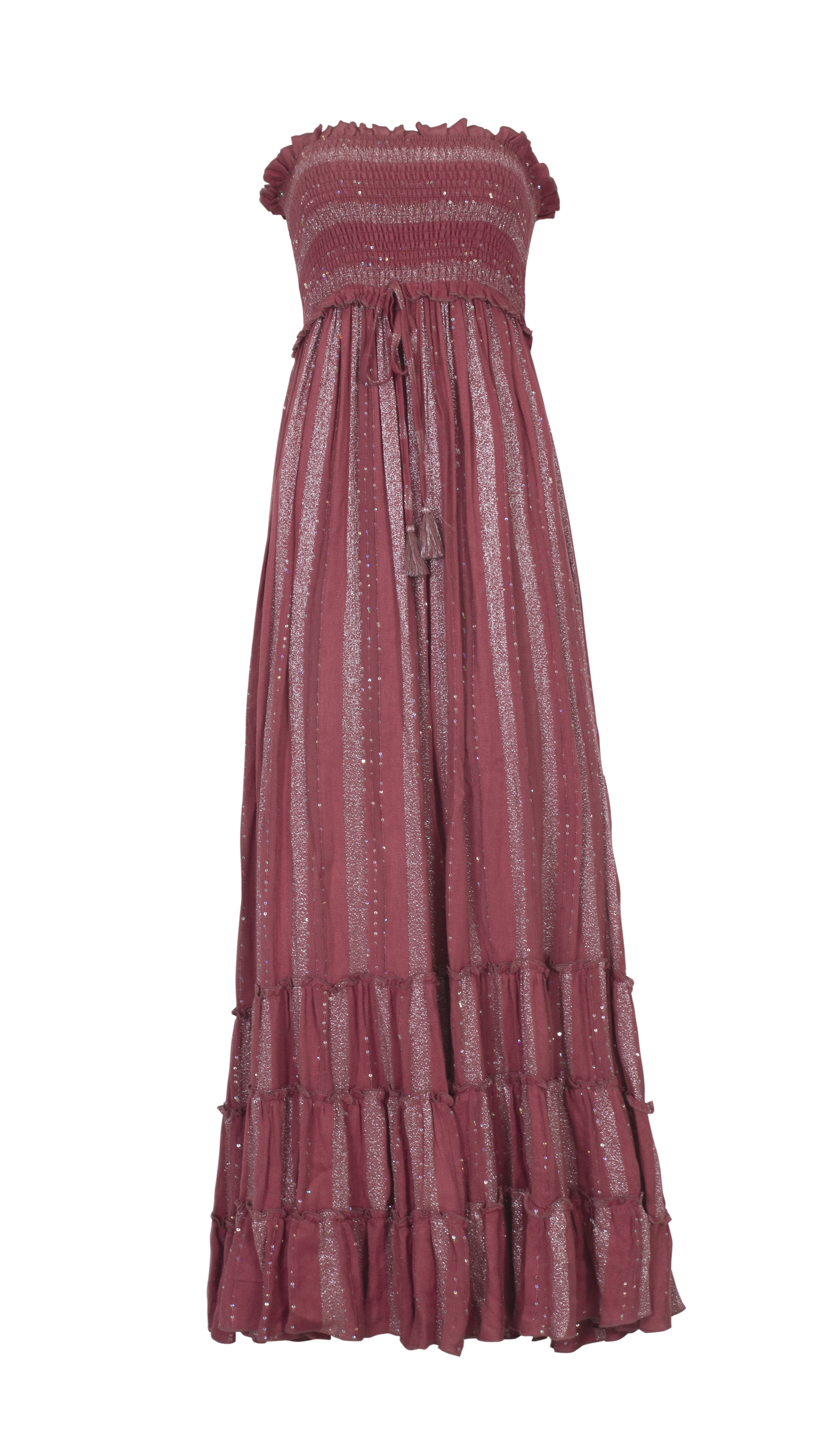 Pilyq Swim Garnet Charlotte Maxi Dress