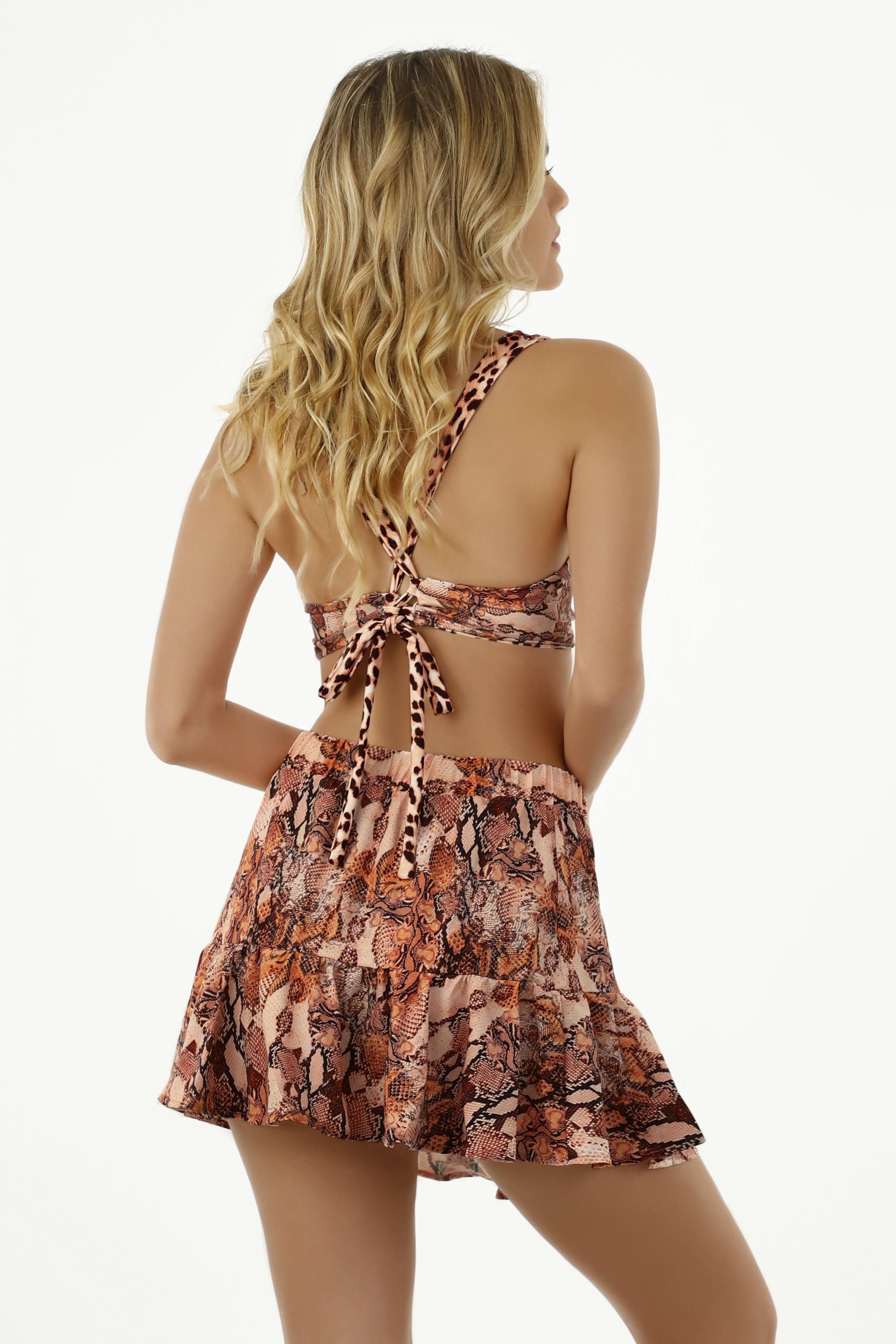 Milonga Guepardo Skirt