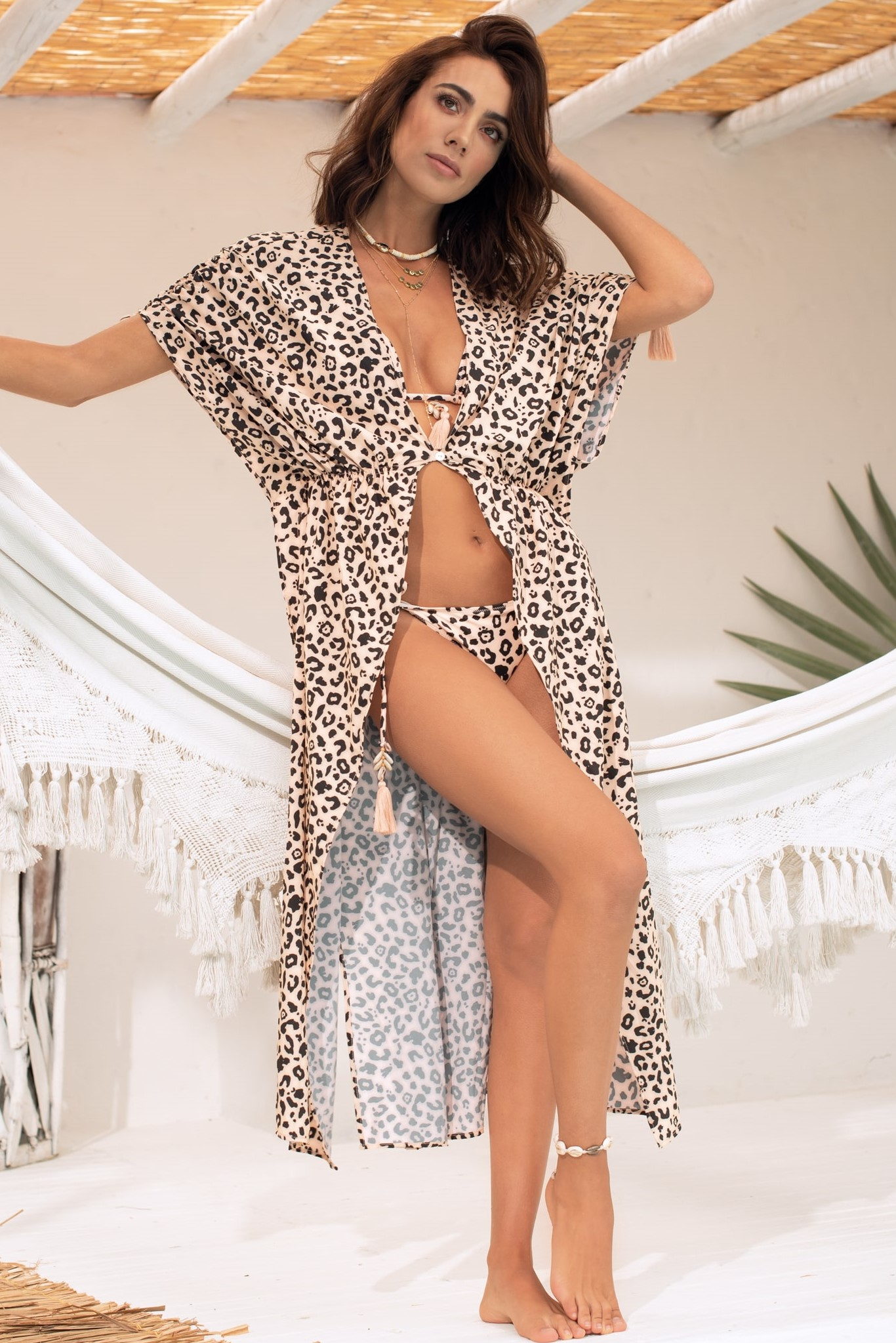 Milonga Jaguar Wild Beach Cover Up Animal Print