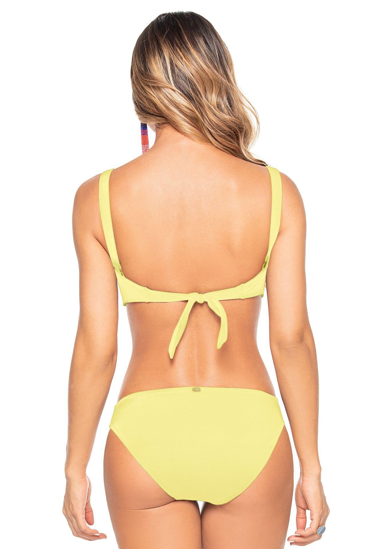 Phax Mimosa Yellow Strapless Wire Bikini