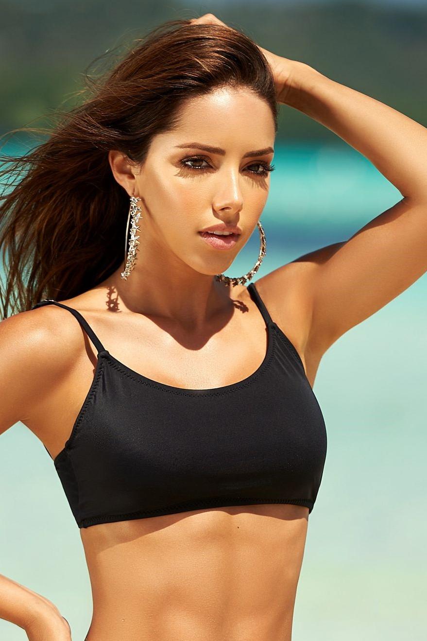 Phax Black Sporty Bikini Top