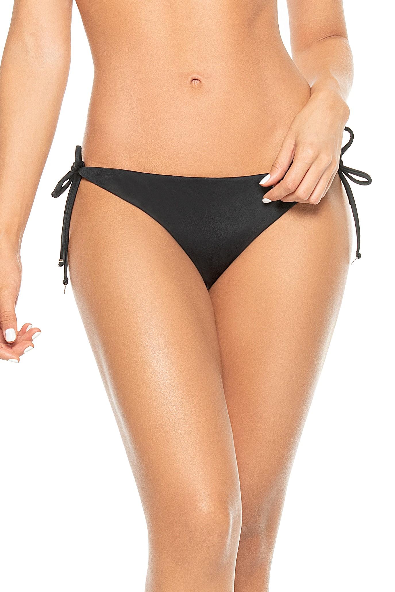 Phax Bella Brasil Black Scrunch Bikini Bottom