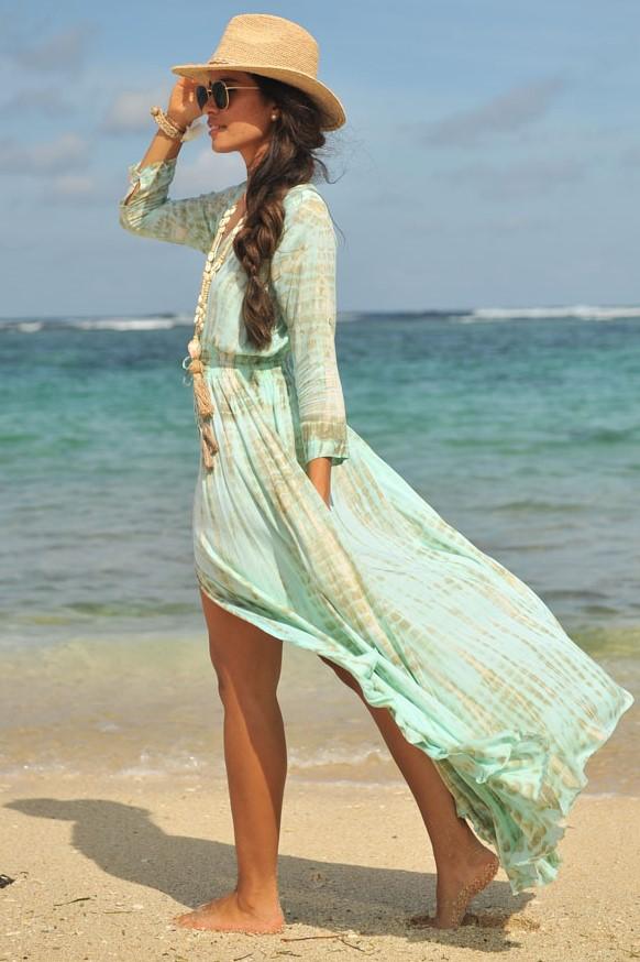 Hot Lava Dress Mila Moonstone-medium-Blauw