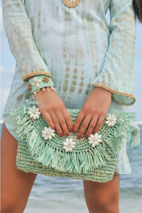Hot Lava Clutch Bora Bora Mint-Uniek-Mint