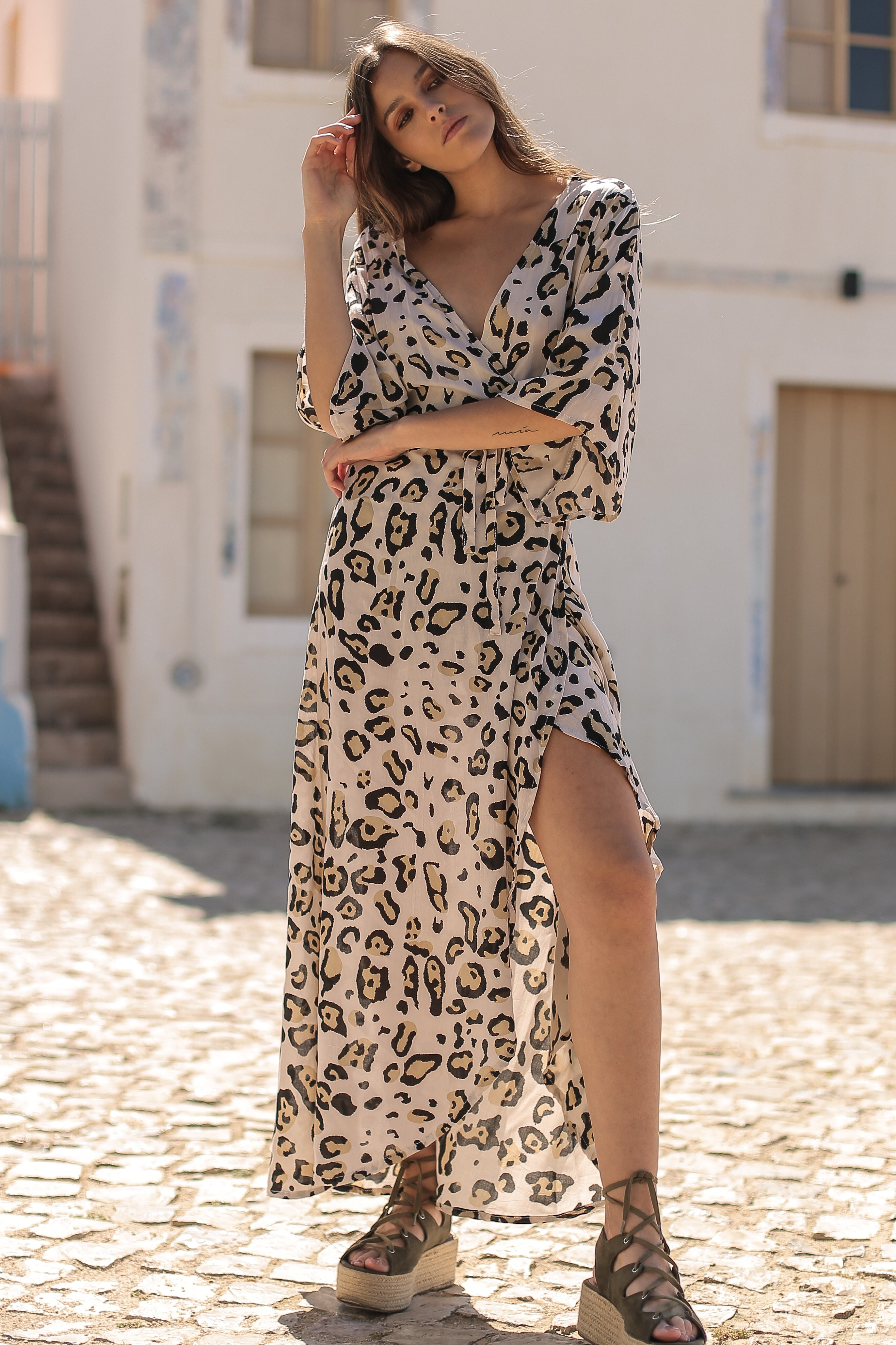 Beach Fashion Only Jaguar Long Dress